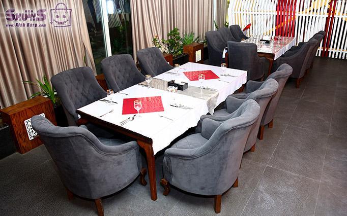 رستوران باراکودا میز