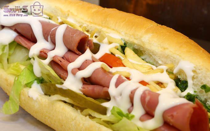 ساندویچ خوشمزه آدا