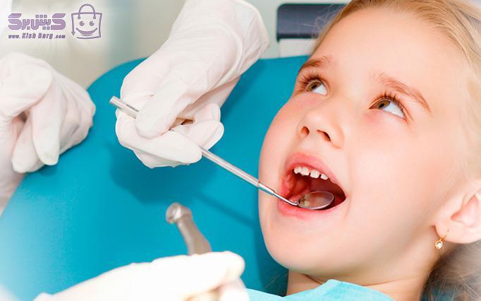 ترمیم دندان اطفال مطب دکتر رفیعی پور