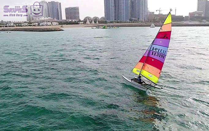 قایق ادونچر تک نفره ADVENTURRE کلوپ مارین دریا (یک ساعت)