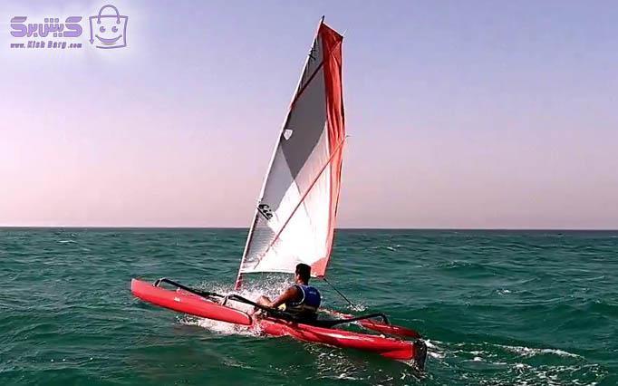 قایق بادبانی و ادونچر کلوپ مارین دریا
