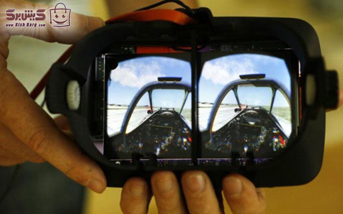 عینک واقعیت مجازی سافاری کیش